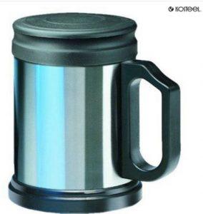 Värmande kopp med lock under